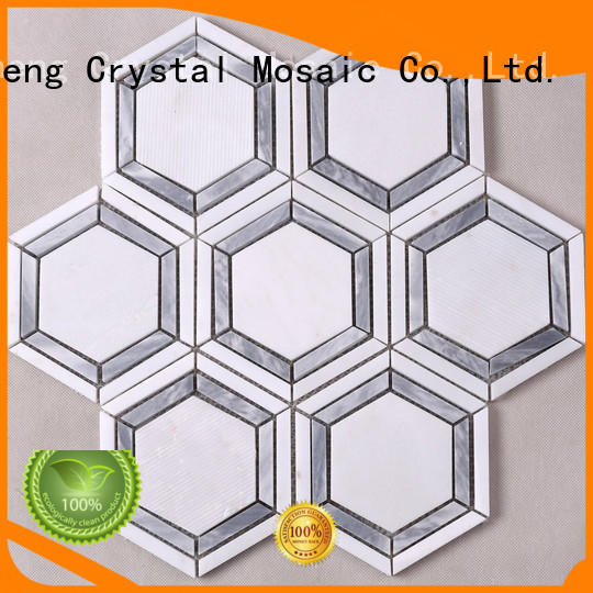 Heng Xing grey mosaic tiles online with good price for kitchen