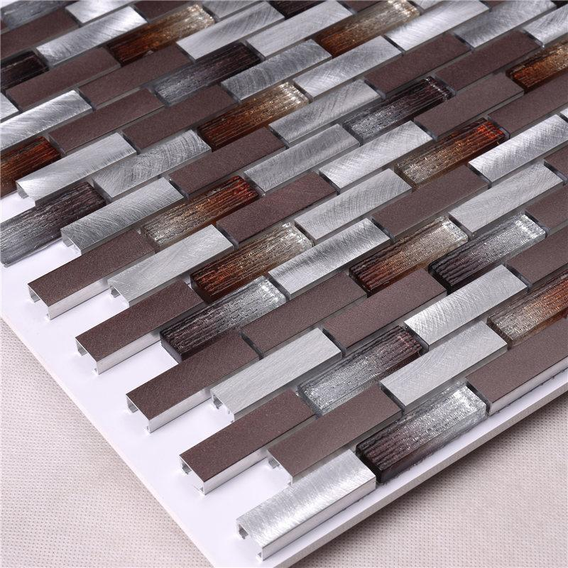 Heng Xing Custom mosaic glass tiles customized for living room-3
