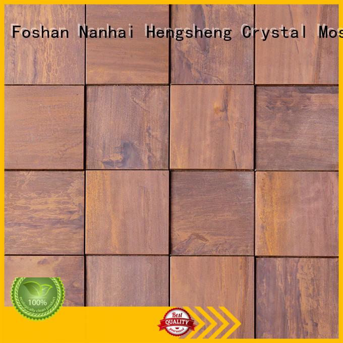 Heng Xing 2x2 metallic floor tile manufacturer for living room