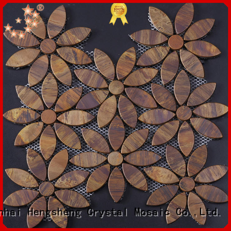 Heng Xing Best wood mosaic tile for business for villa