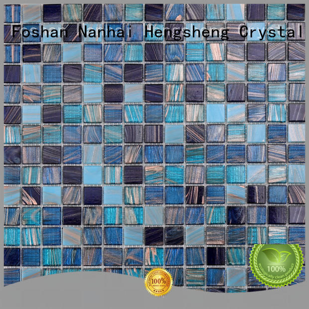 Heng Xing ne748 pool mosaic tile for business for fountain