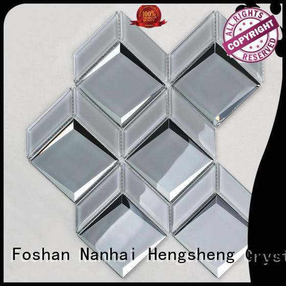 Heng Xing Custom wave mosaic tile manufacturers for hotel