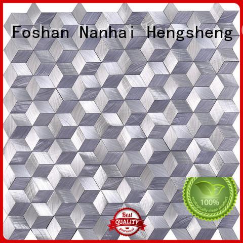 glass mosaic metal for hotel Heng Xing