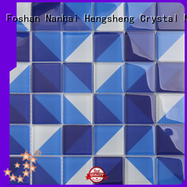 Heng Xing light slate mosaic tile Supply for fountain