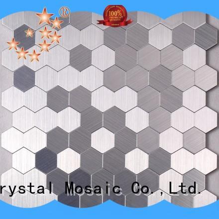 golden mosaic tile backer diamond factory for living room