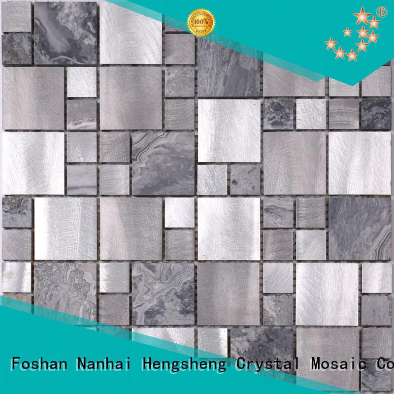Top clear glass mosaic tiles effect manufacturer for villa