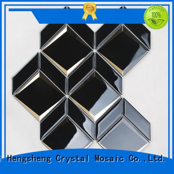 New glass splashback tiles marble factory price for bathroom