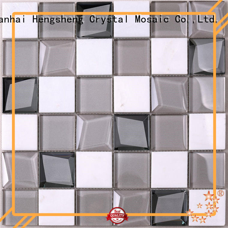 Heng Xing hdt04 slate mosaic tile factory for bathroom