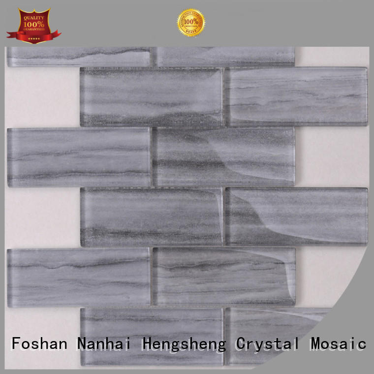 Heng Xing strip chevron tile backsplash company for bathroom