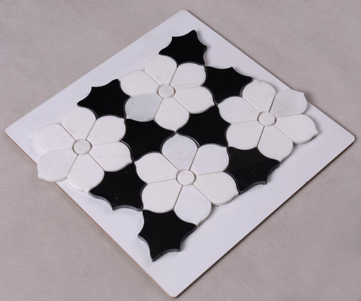marble wood mosaic tile stone manufacturers for hotel-3